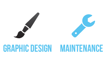 graphic design and website maintenance